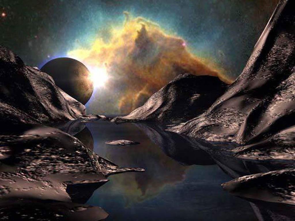 рисунки фото фантастика космос блохами называют